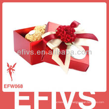 2013 Elegant Wedding Favor Caixa feita na China