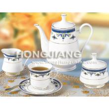 Set de té 17 piezas (0051 # AZUL)