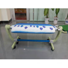 High quality PP square ironing table and ironing board for double side usable