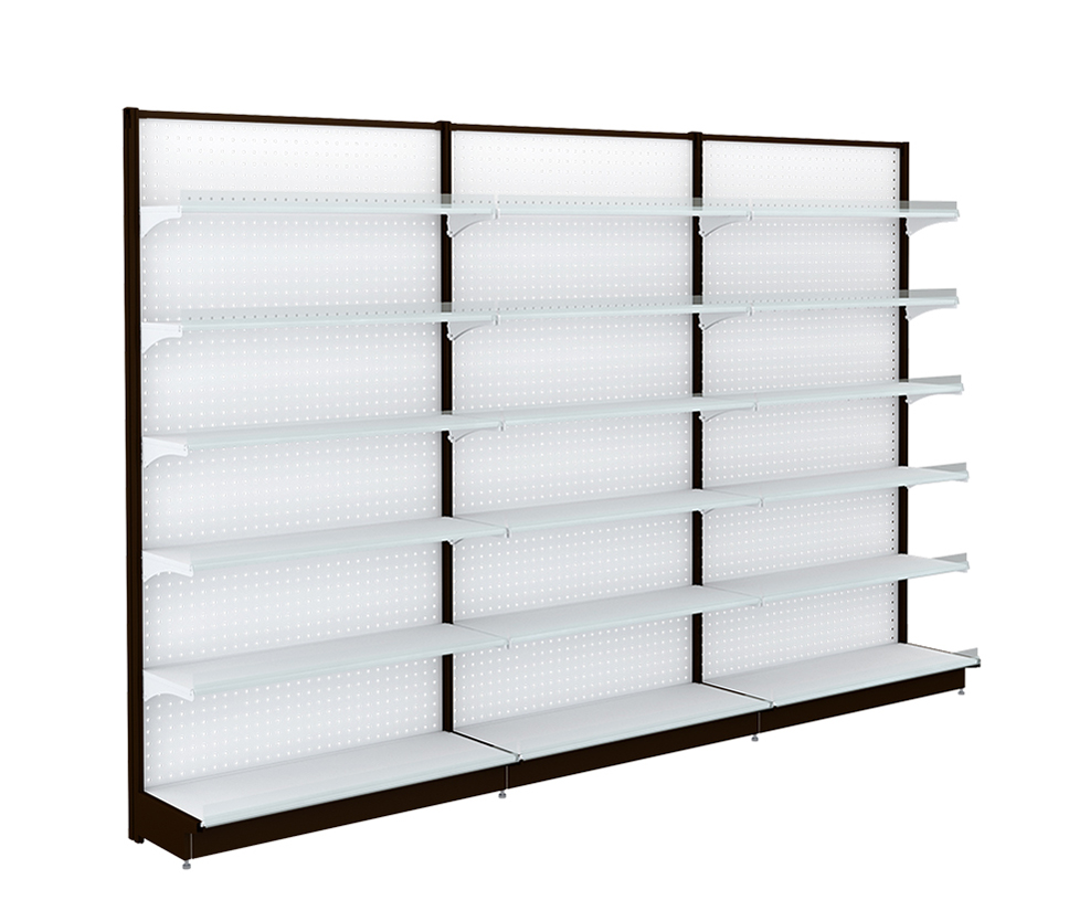 Supermarket Metal Shelving