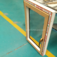 Custo das janelas de caixilho UPVC com vidro duplo para porta de PVC