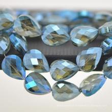 2018 moda jóias AB cor cristal de vidro pingente de gota grande a granel CP099