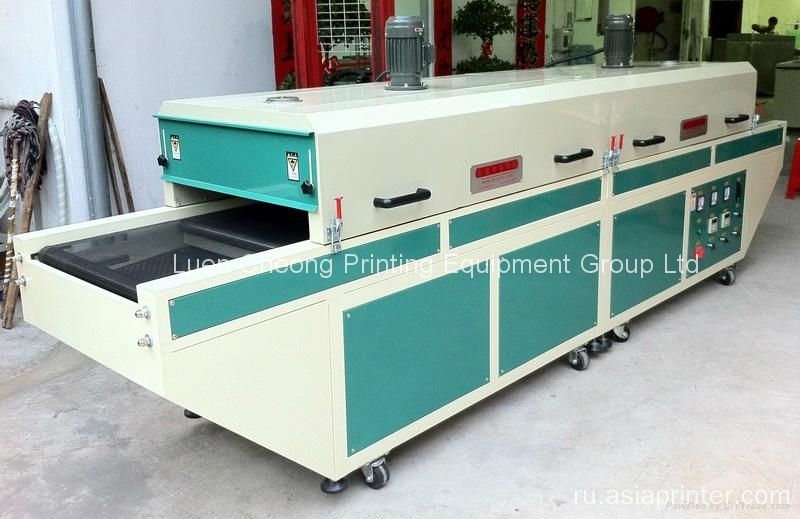 Keypress and Pen IR Dryer Tunnel Machine