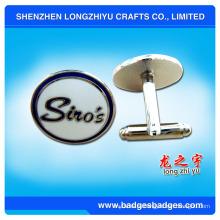 Элегантный дизайн Запонки с дизайном логотипа Заказчика, печать Запонки комплект