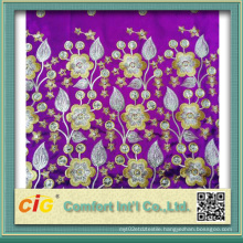 Embroidered Polyester Headscarf Fabric Scfz04616