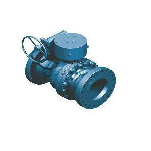 Double-blok Trunnion Ball Valve
