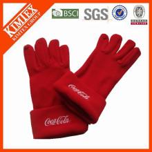 Зимние перчатки из флиса