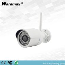 CCTV H.264 1.0MP Wireless WiFi Bullet IP Camera