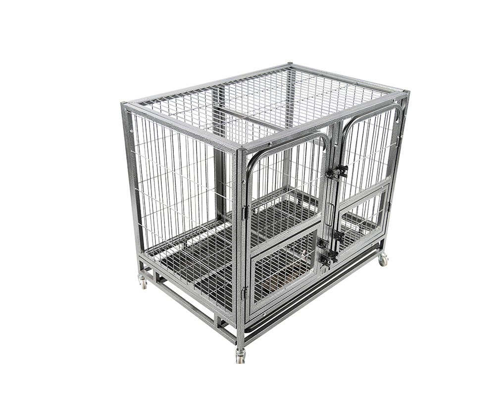 Durable Black Dog Cage