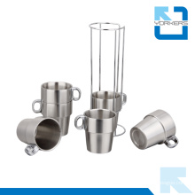 Stainless Steel Milk Tea Cup / Coffee Cup Sets