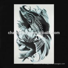 OEM tatuaje de brazo de pescado al por mayor nuevo tatuaje de brazo tatuaje de moda falso tatuaje de brazo de tinta W-1094