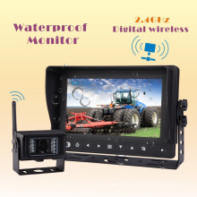 Waterproof Wireless Backup Camera System for Combine, Cultivator, Plough