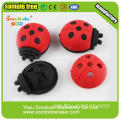 3D Hot Sale Red Beetle eller nyckelpiga Former suddgummin