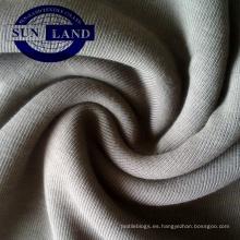 Valor principal de algodón Costilla CVC 1 * 1 para accesorios de prendas de vestir