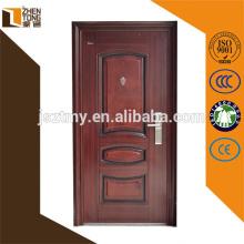Cheap cheap exterior steel door,cheap wrought iron door,zhentong door factory