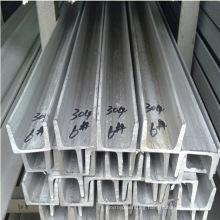 AISI ASTM DIN En etc 304 Stainless Steel Channel Bar