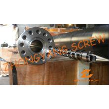 Barril de tornillo de máquina de moldeo por inyección único Zy152 PP PE