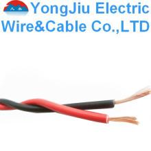 Cable eléctrico Cable retorcido Cable flexible flexible PVC Cable de aislamiento PVC PVC