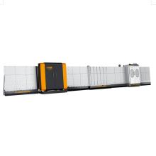 Línea de procesamiento de vidrio aislante vertical automática