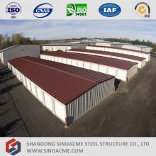 Edificio de almacenamiento de acero estructural prefabricado