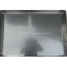Lebensmittel-Backofen-Tablett - alle Edelstahl-Tablett - ein Formteil gepresst