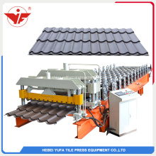 Yufa Glazed tile roll membentuk mesin