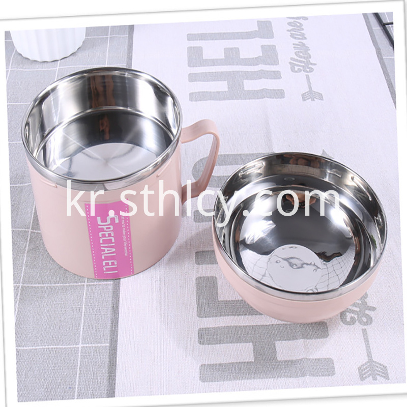 Stainless Steel Single Ear Cup