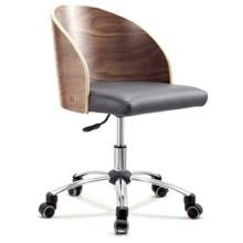 HY2006 орехового дерева завод оптовая поворотный кожаный компьютер офис стул конференция стол