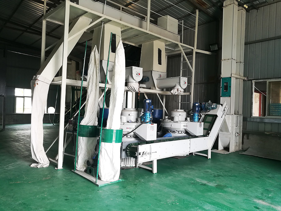 waste corn stalk pellet machine