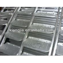 Échelle en acier galvanisée d'échafaudage / cas d'escalier pour le système de cadre