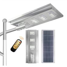 40w60w80w100w120w150w180w intégré tout en un lampadaire solaire à LED