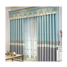 Amazon select supplier polyester bathroom ready made curtains luxury blackout curtains for bedroom