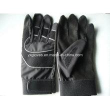 PU перчатка-безопасность перчатка-поднятие перчаток-защитная перчатка-бейсбольная перчатка