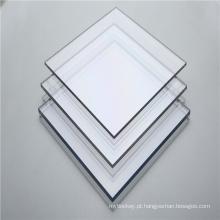Vendas quentes de painel de policarbonato transparente sólido de 3 mm