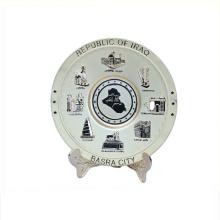 Art use good quality souvenir plate souvenir gift milano
