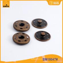 Нажмите кнопку металлической защелки для куртки BM10047
