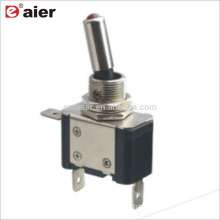 ASW-07D 20A 12MM SPST 3Pin ON-OFF 12V Automotive Lighted Toggle Switch