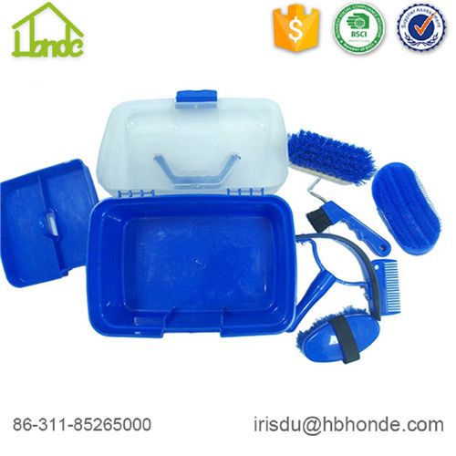 blue horse grooming box