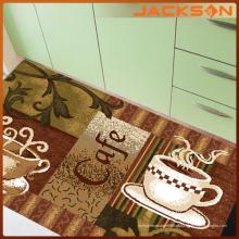 Máquina feita tapete de carpete de cozinha impressa