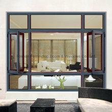 Aluminum Profile Window Has Best Soundproof Performance (FT-W 135)