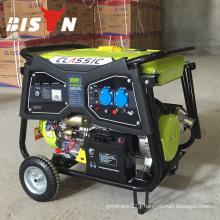 BISON(CHINA)5kw BS6500WG Gasoline Generator Powered By 4 Stroke Engine