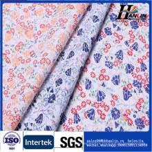 100% cotton print fabric voile seersucker