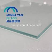 Herstellung von gehärtetem Glas