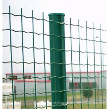Exportation de clôture européenne standard enduit de PVC en stock