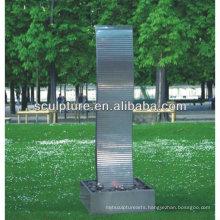 Shengfa-park stainless steel art Sculpture/metal fountain