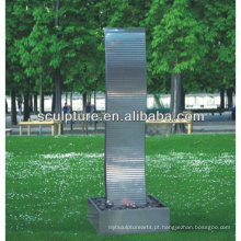 Shengfa-parque arte em aço inoxidável Escultura / metal fonte
