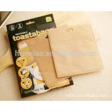 Customer designed bread heating bags made by teflon coated fiberglass