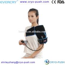reusable inflatable compression shoulder wrap support