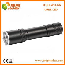 Factory Sale High-Power Multi-fonction Beam réglable Focus en aluminium Cree XPG 5W Rechargeable 3w cree q3 / q5 led Flashlight