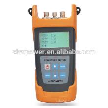 Appareil de mesure de puissance optique à fibre optique, compteur de puissance à fibre optique, alimentation en fibre optique